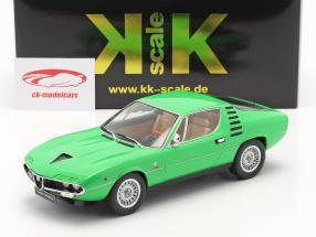 Alfa Romeo Montreal Baujahr 1970 grün 1:18 KK-Scale