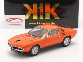 Alfa Romeo Montreal Bouwjaar 1970 oranje 1:18 KK-Scale