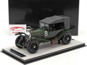 Bentley 3L Sport Gesloten #8 winnaar 24h LeMans 1924 Duff, Clement 1:18 Tecnomodel