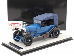 Bentley 3L Versión de calle cerrado Año de construcción 1924 azul 1:18 Tecnomodel