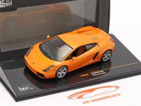 Lamborghini Gallardo Año de construcción 2003 naranja 1:43 Ixo