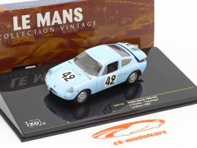 Abarth Simca 1300 N° 42 Le Mans 24h 1962 Oreiller / Spychiger 1:43 Ixo