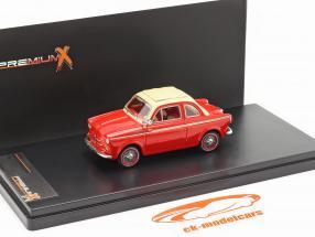 NSU-Fiat Weinsberg 500 Año 1960 rojo 1:43 Premium X