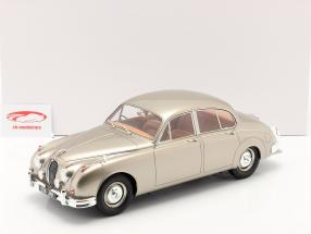 Jaguar MK II Byggeår 1959-1968 guld metallisk 1:12 Matrix
