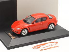 Mazda RX-8 año 2003 rojo 1:43 Premium X / 2. elección