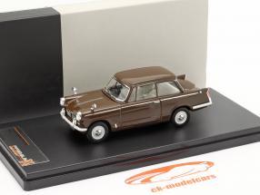 Triumph Herald Saloon År 1959 brun 1:43 Premium X