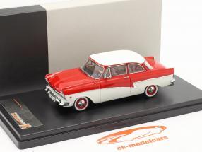Ford Taunus 17M Year 1957 red / white 1:43 Premium X