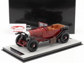 Bentley 3L Versione stradale Aperto Anno di costruzione 1924 buio rosso 1:18 Tecnomodel