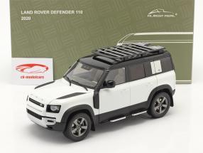 Land Rover Defender 110 Con portapacchi 2020 fuji bianca 1:18 Almost Real