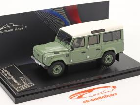 Land Rover Defender 110 Heritage Edition 2015 verde 1:43 Almost Real
