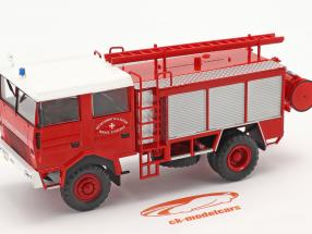 Berliet GBD 4x4 fire department Savoie red 1:43 Altaya