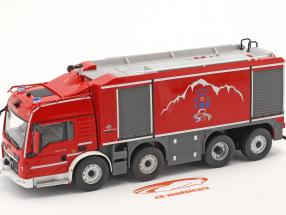 MAN TGS Proteus Geie TMB pompiers rouge / grise 1:43 Altaya