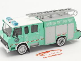 Berliet 770 KB 6 Brandweer Antofagasta groen / Wit 1:43 Altaya