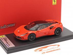Ferrari F8 Tributo Année de construction 2019 dino rouge / noir 1:43 LookSmart