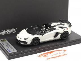 Lamborghini Aventador SVJ Roadster Année de construction 2019 phanes blanc 1:43 LookSmart