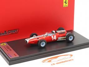 Pedro Rodriguez Ferrari 512 #14 5. plads USA GP formel 1 1965 1:43 LookSmart