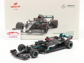 L. Hamilton Mercedes-AMG F1 W11 #44 vincitore Britannico GP F1 Campione del mondo 2020 1:18 Spark