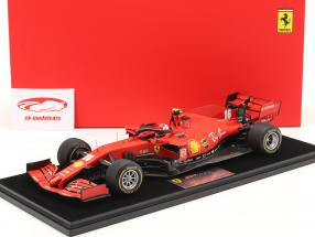 C. Leclerc Ferrari SF1000 #16 2do austriaco GP fórmula 1 2020 1:18 LookSmart