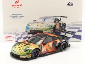 Porsche 911 RSR #56 winnaar LMGTE Am 24h LeMans 2019 Team Project 1 1:12 Spark