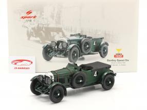 Bentley Speed Six #4 vincitore 24h LeMans 1930 Barnato, Kidston 1:18 Spark