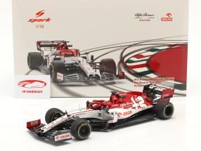 R. Kubica Alfa Romeo Racing C39 #88 Test Barcelona formule 1 2020 1:18 Spark