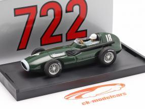 S. Moss / T. Brooks Vanwall VW57 #18 Vincitore Britannico GP formula 1 1957 1:43 Brumm