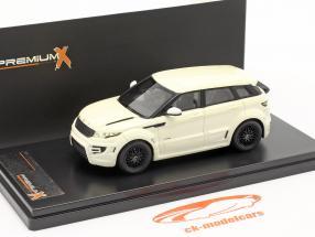 Range Rover Evoque by ONYX Baujahr 2012 weiß 1:43 Premium X