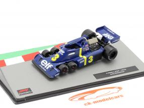 Jody Scheckter Tyrrell P34 #3 formula 1 1976 1:43 Altaya