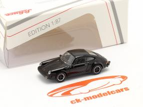 Porsche 911 Carrera 3.2 Coupe 黒 1:87 Schuco