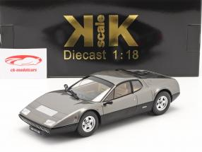 Ferrari 365 GT4 BB Bouwjaar 1973 gun-metal 1:18 KK-Scale