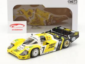 Porsche 956B #7 gagnant 24h LeMans 1984 Pescarolo, Ludwig 1:18 Solido