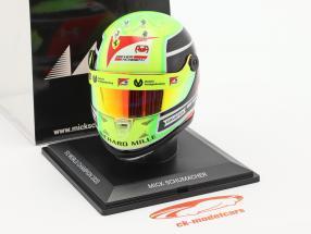 Mick Schumacher Prema Racing #20 formule 2 champion 2020 casque 1:4 Schuberth