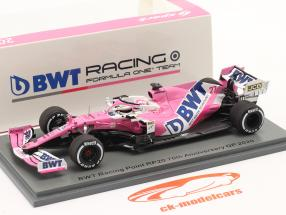 N. Hülkenberg Racing Point RP20 #27 70th Anniversary GP formule 1 2020 1:43 Spark