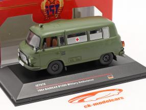 Barkas B1000 Militärambulanz Baujahr 1964 dunkeloliv IST-Models / 2. Wahl