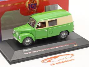 Ifa Framo V901/2 Caja camioneta año 1954 verde / beige 1:43 IST-Models