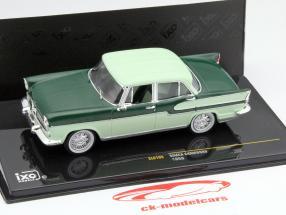 Simca Chambord an 1958 foncé vert / léger vert 1:43 Ixo / 2e choix