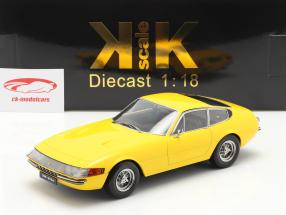 Ferrari 365 GTB/4 Daytona coupé Séries 1 1969 Jaune 1:18 KK-Scale