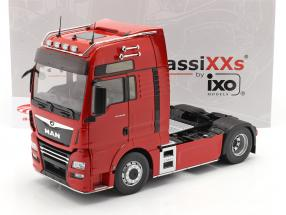 MAN TGX XXL Camión Año de construcción 2018 rojo 1:18 Premium ClassiXXs
