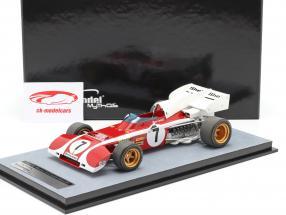 Mario Andretti Ferrari 312B2 #7 4. plads Syd afrikansk GP formel 1 1972 1:18 Tecnomodel