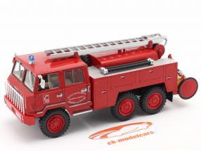 Berliet FF 6x6 pompiers SDIS Meurthe et Moselle rouge 1:43 Altaya