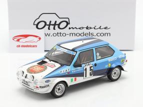 Fiat Ritmo 75 Abarth #15 6th Rallye Monte Carlo 1980 1:18 OttOmobile