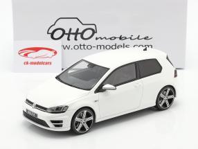 Volkswagen VW Golf VII R Année de construction 2014 blanc 1:18 OttOmobile