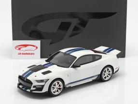 Ford Mustang Shelby GT500 Dragon Snake 2020 Oxford blanco 1:18 GT-Spirit