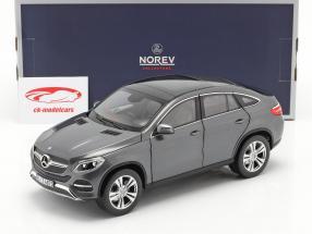 Mercedes-Benz GLE Coupe Bouwjaar 2015 Grijs metalen 1:18 Norev