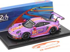 Porsche 911 RSR #57 24h LeMans 2020 Team Project 1 1:43 Spark