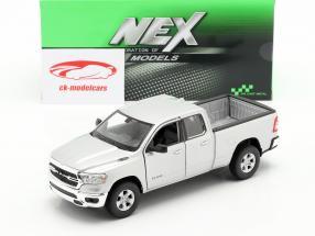 Dodge Ram 1500 Année de construction 2019 argent 1:24 Welly
