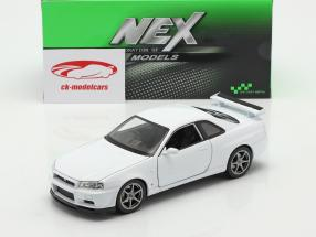 Nissan Skyline GT-R (R34) weiß 1:24 Welly