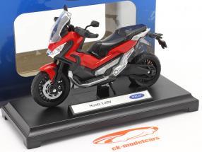 Honda X-ADV Byggeår 2018 rød / sort 1:18 Welly