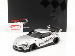 Pandem Toyota GR Supra V1.0 Año de construcción 2020 plata 1:18 TrueScale