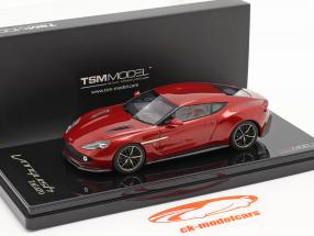 Aston Martin Vanquish Zagato year 2016 lava red 1:43 TrueScale